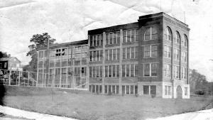 Spirella Corset Factory, 1910 from the Francis J. Petrie Collection at the Niagara Falls Public Library
